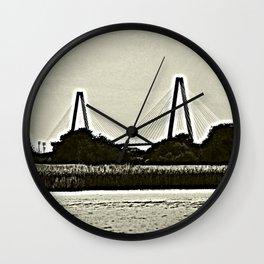 Arthur Ravenel Bridge Wall Clock