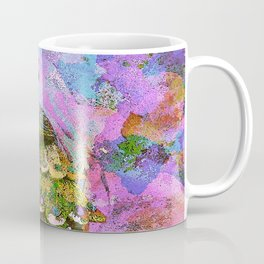 Peacock Watercolor Coffee Mug
