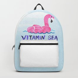 vitamin sea vitamin C love beach summer vibe bird cute hot style new 2018 2019 blue wave seas ocean Backpack