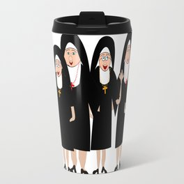 Nuns Wearing Habits Travel Mug