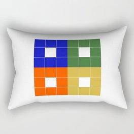 The Bridge (Block logo) Rectangular Pillow