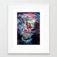 angel Framed Art Prints featuring Angel  by ART de Luna