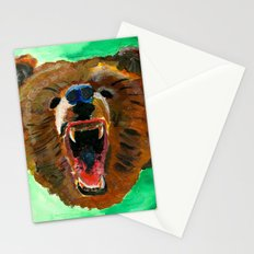 This is a bear Stationery Cards