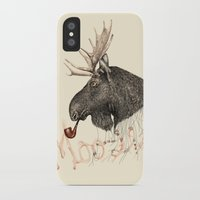 moose iPhone & iPod Cases featuring moose by dogooder