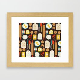 Cookie Party Framed Art Print