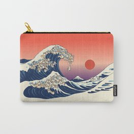 The Great Wave of Corgis Carry-All Pouch