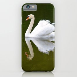 Reflecting Swan iPhone Case