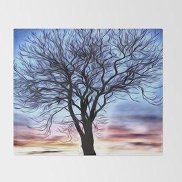 The Lovely Tree Throw Blanket