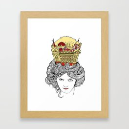 The Queen of Montreal Framed Art Print