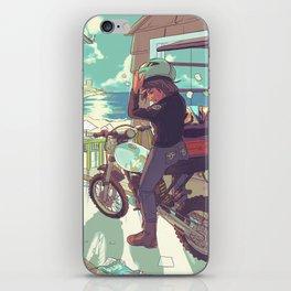 Beach Bike iPhone Skin