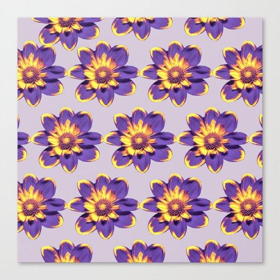 Flower Pattern #3 Canvas Print
