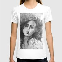 jessica lange T-shirts featuring Jessica by Judy Hung