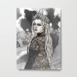 The Snow Queen Metal Print