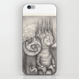 All happened where tthe wild things were iPhone Skin