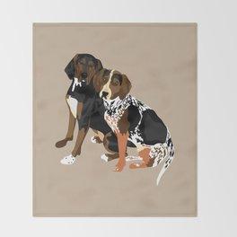 Marlowe and Gracie Throw Blanket