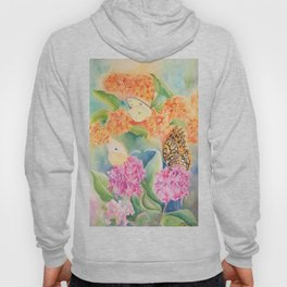Butterfly Weed Hoody
