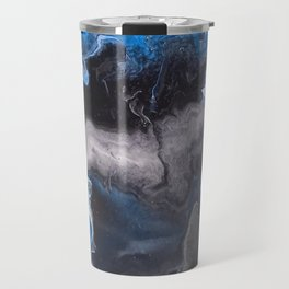 Blue Lightning Travel Mug