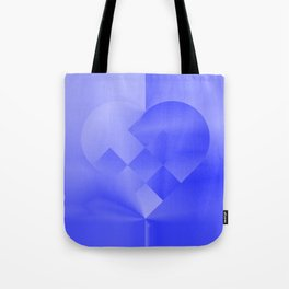 Danish Heart Blues Tote Bag