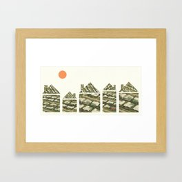 Home (alt.) Framed Art Print