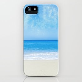A Day At The Beach - II iPhone Case