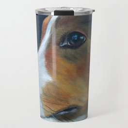 Sheltie Shetland Sheepdog Art Travel Mug