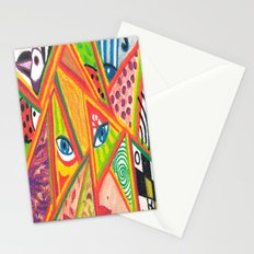 Woman in love Stationery Cards