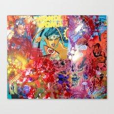 W0nder W0man  Canvas Print
