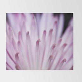 Thin Pink Petals Throw Blanket