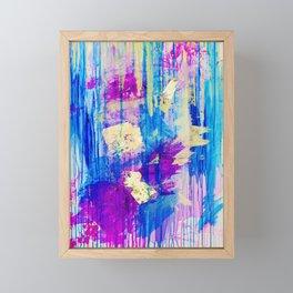 Dance in the rain  Framed Mini Art Print