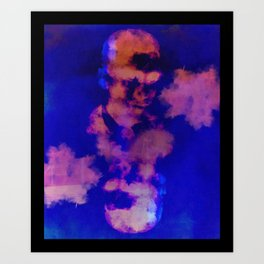 JD Salinger Art Print