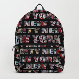 New York City (typography) Backpack