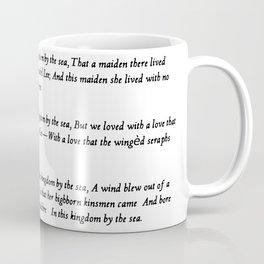 Annabel Lee Edgar Allan Poe Classic Poem Coffee Mug