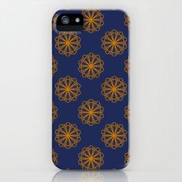 Geometric Marigolds iPhone Case