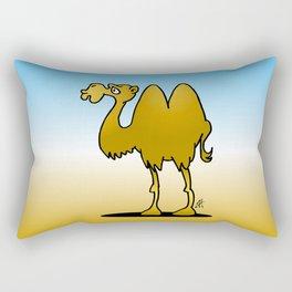 Camel Rectangular Pillow