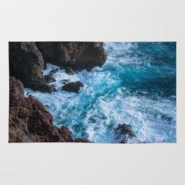 deep blue sea Rug
