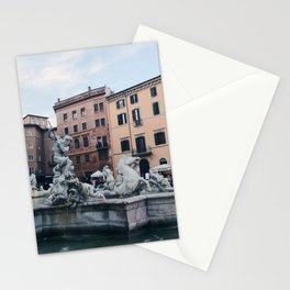 Piazza Navona / Rome, Italy Stationery Cards