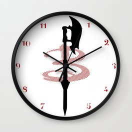 Slayer Scythe Wall Clock