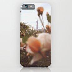 Flowers grow in Paris iPhone 6s Slim Case