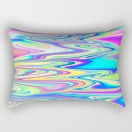 abstract waves Rectangular Pillow