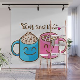You and me Wall Mural