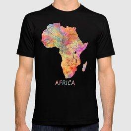 Africa map 2 T-shirt