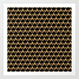 Gold Chines 1 Art Print