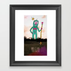 It's never to late to come back... Framed Art Print