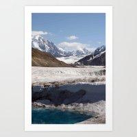 alaska Art Prints featuring Alaska by L McLeod