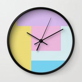 geometric space Wall Clock