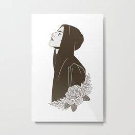 Elliot Alderson Metal Print