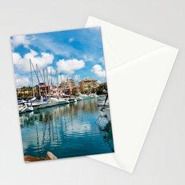 Torrevieja marina Stationery Cards