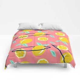 Lemons party #society6 #decor #buyart Comforters