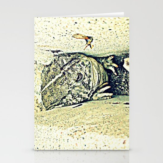Stealth Frog Stationery Cards