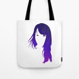 Purple Vector Tote Bag